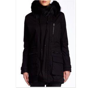 Vince Jackets & Coats - Vince Quilted Genuine Coyote Fur Trim Parka Coat